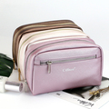 NEWEST travel PU cosmetic bag for custom logo promotional