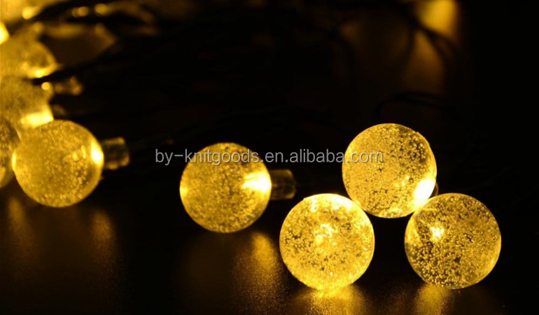 christmas led Solar string lights garden light tree light