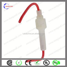 factory direct sale 15A 250V 5x20mm inline fuse holder