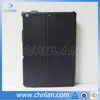 High quality hot pressing flip leather cover for ipad mini 2 case with micro fiber