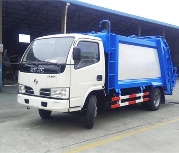 Dongfeng 4x2 compactor garbage truck price dumpster dustcart for sale