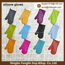 colors silicone gloves