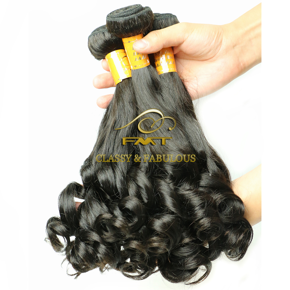 2016 Alibaba Top Grade 9A Virgin Fumi Wave Hair, Peruvian virgin hair extension human