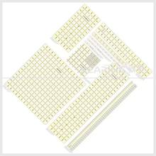 Sew Handicraft Clear Acrylic Patchwork Quilting Ruler with Grids for Fashion Design