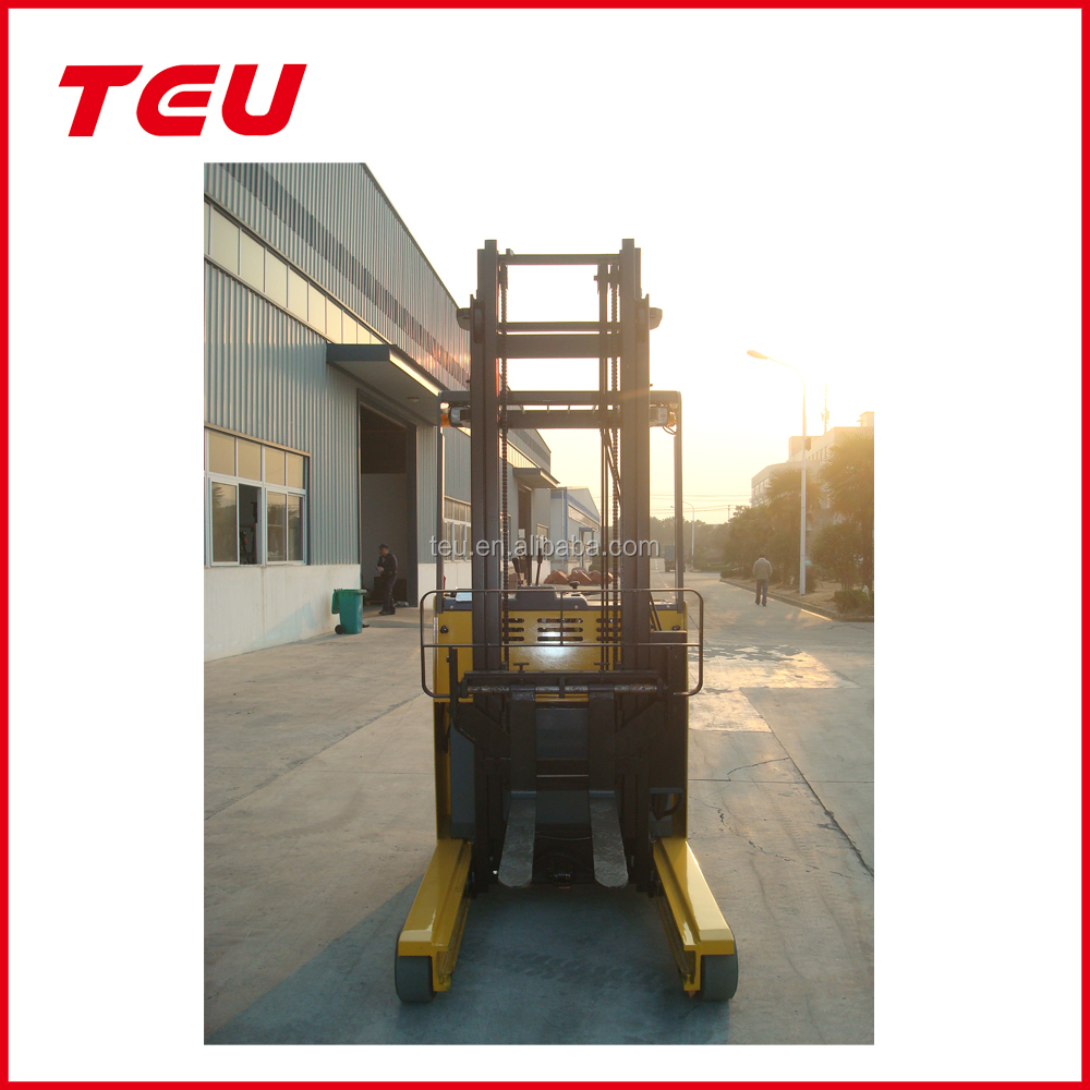 1.5 t electric reach forklift truck TEU