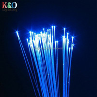color changing 0.75mm PMMA plastic optical fiber for making star starry ceiling and chandelier