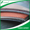 HUZHOU FORNICE embroidary suede fabric for car upholstery for Kuwait/Iran market