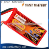 Vant 2S high rate discharge rc lipo battery pack 7.4v 1300mah 45C rc heli battery