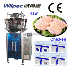 500g, 1kg Raw Chicken Wing Automatic Weighing Filling Packaging Machinery