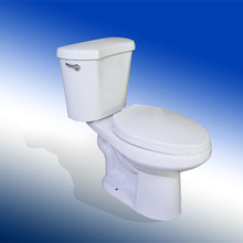 Popular ceramic two piece toilet for the elderly