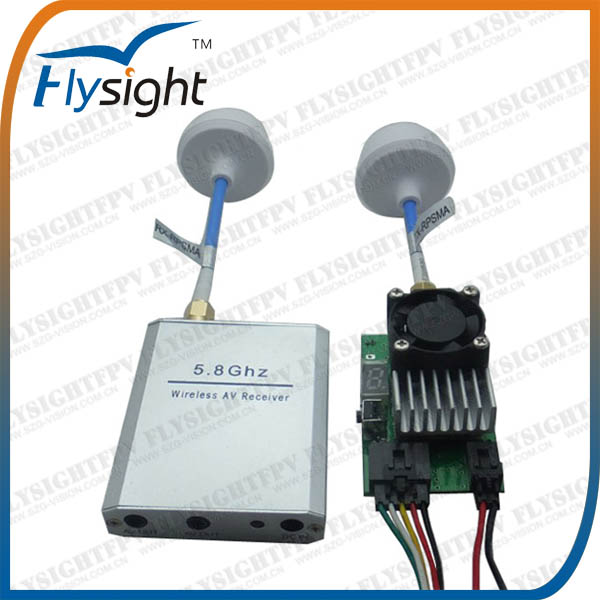 H996 5.8Ghz 25mW FPV Wireless Micro Audio Video Transmitter And Receiver TX & RX Kit for Remote Control Helicopter