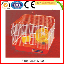 Orange Color Small Bird Cage Case Parrot Wire House China Supplier