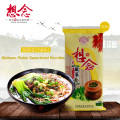 Sichuan Pickle Sauerkraut Noodle with 6 Slight Spicy Sour Taste Seasoning Bags Instant Dried Noodles 366g