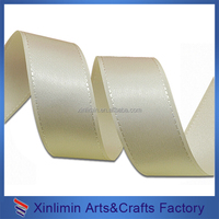 Best sale professional cut satin ribbon for gift packing big discount