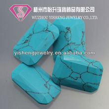 Factory Price Crack Rough Turquoise Culture Stone