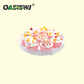 "cake round plate/cup cake holder---Dia 12' (10"" )"