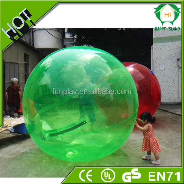 Hot seller fashion jumbo water ball,zorb water ball,inflatable floating water running ball for sale