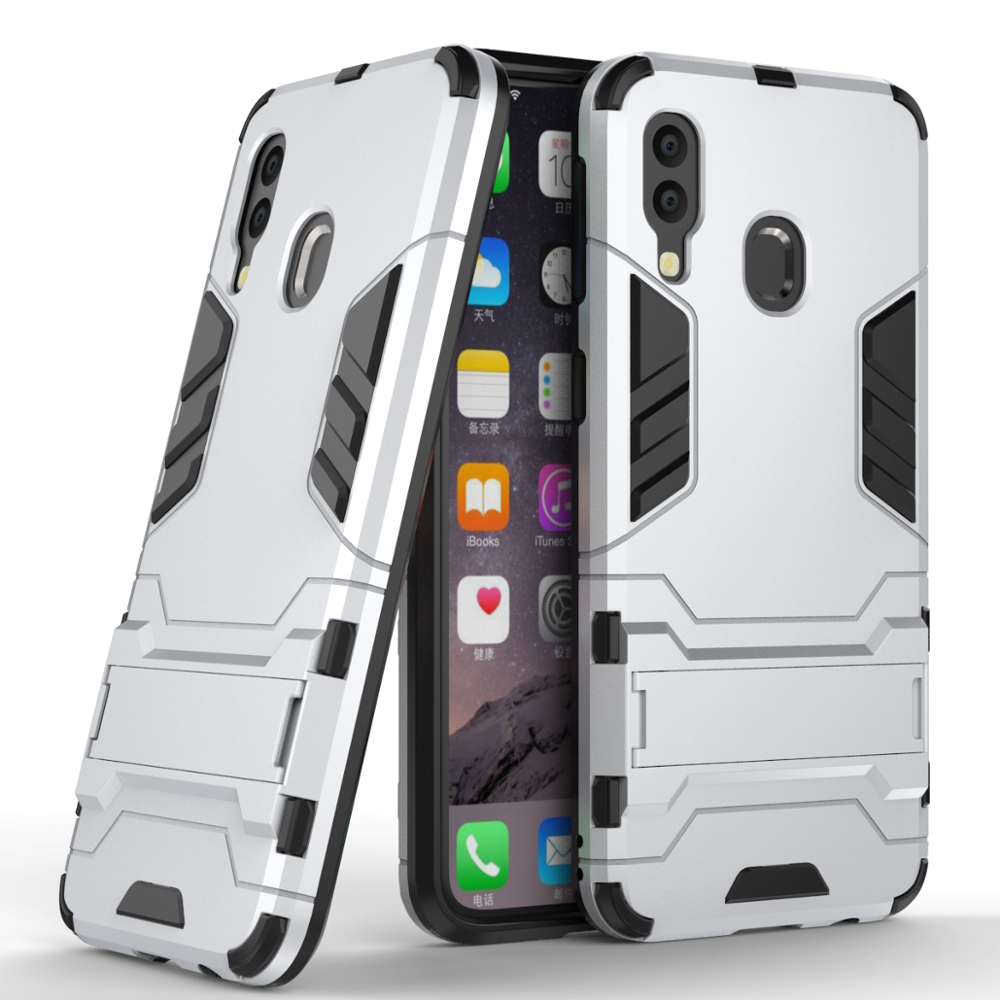 2 in 1 tpu pc shockproof kickstand phone case for Samsung Galaxy <strong>A10</strong> , Mobile phone accessories case for Samsung <strong>A10</strong>
