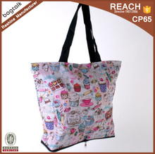 SP0332 Foldable Delicious Sweet Tea Shopping Bag Tote Bag Promotion