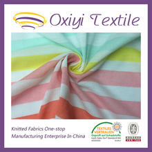 100% cotton single jersey tubular knit fabric