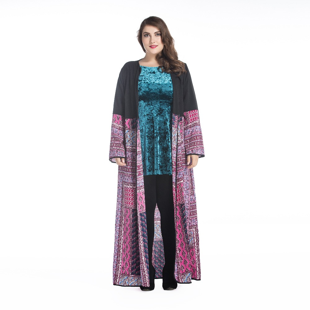 women trendy muslim maxi long dress