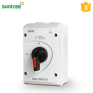 Suntree SISO-40 DC 1000V Earthing Isolation Switch 3 Poles Electrical Isolator SAA CE