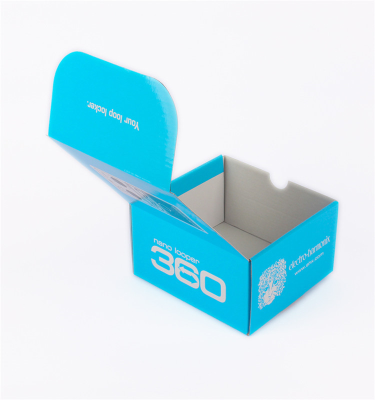 Custom Color Corrugated Carton Box Packaging With Print