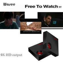 Smart TV Box 4K WiFi Connect TV play games watch movie Super Stable WiFi android tv box