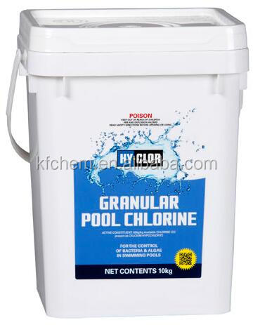 Sodium Process Calcium Hypochlorite 65%,70% Granular for Swimming Pool Disinfection