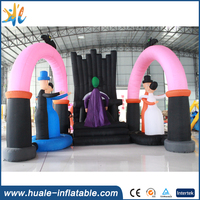 2016 New giant halloween decoration inflatable arch for sale