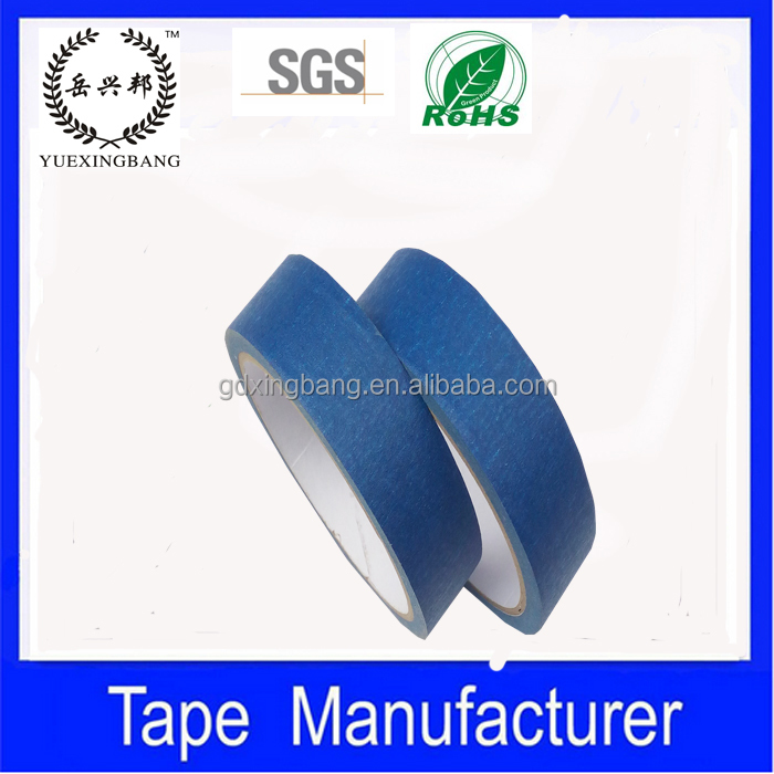 General purpose 9 colors blue black brown masking tape