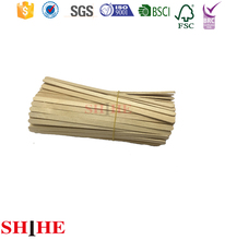 140mm wholesale disposable wooden coffee stick stirrers