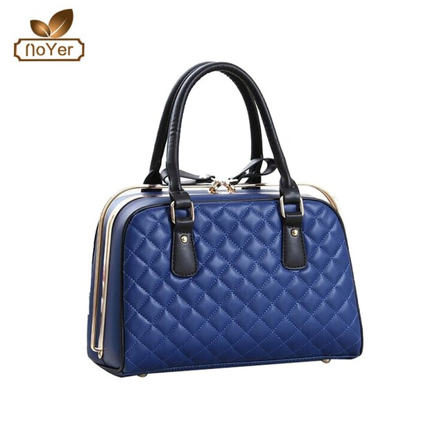 2015 new arrival women's shoulder bags fashion women deep purple handbags and ladies bags