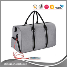 Fashion Charging Travel Gym Sports Duffle Bag