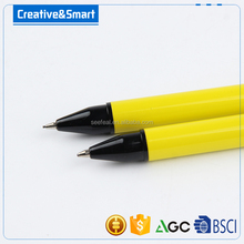 China Pen Factory Made 2 pcs metal pen and colored pencils Set for schooland office