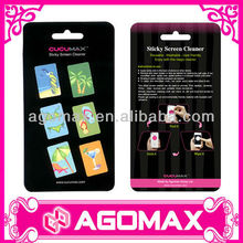 Go to beach series Adhesive microfiber screen cleaner