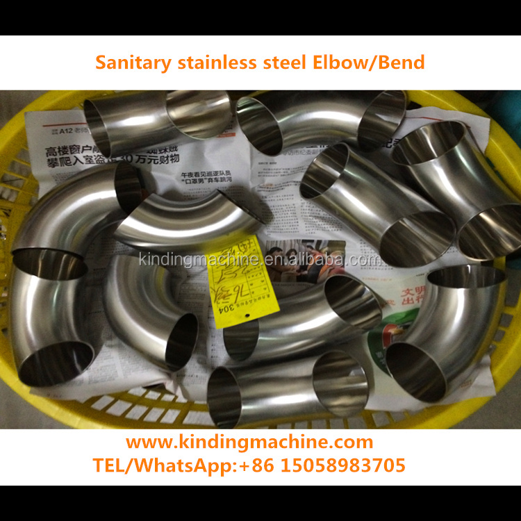 3A/DIN/SMS/ISO/DS Sanitary Stainless Steel SS304/316L Welding Elbow