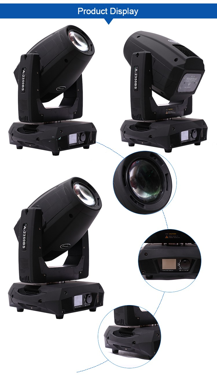 Professional led lighting dj moving head led beam 330w 15r/ 17r beam spot wash 3 in 1 350w moving head lights