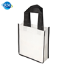 Rongmei Custom Simple Design Flat Bottom Carry Non-Woven Tote Bag