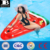 Huge over sized heavy duty vinyl floating watermelon Giant Inflatable Watermelon Slice Pool Lounger with Connectors and Cup Hold