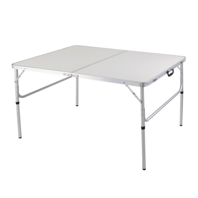 Aluminium Alloy White Simple Design Folding Outdoor Camping Table