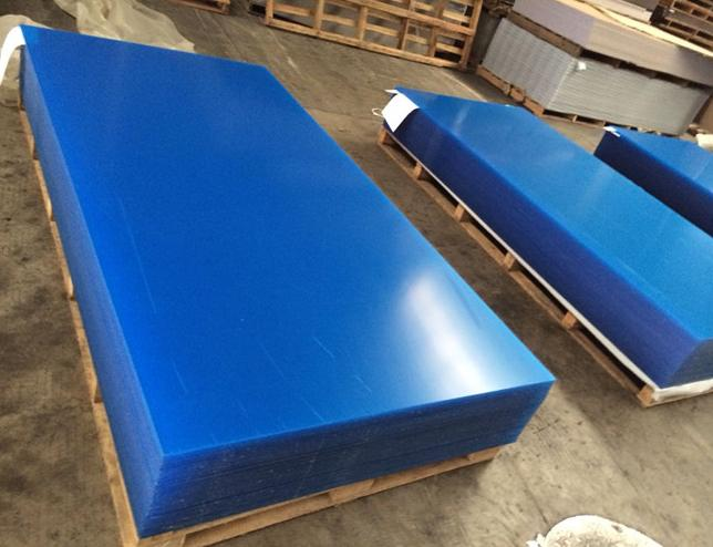 Wholesale blue color PMMA acrylic board