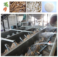 Complete cassava flour processing machine fufu processing machinery