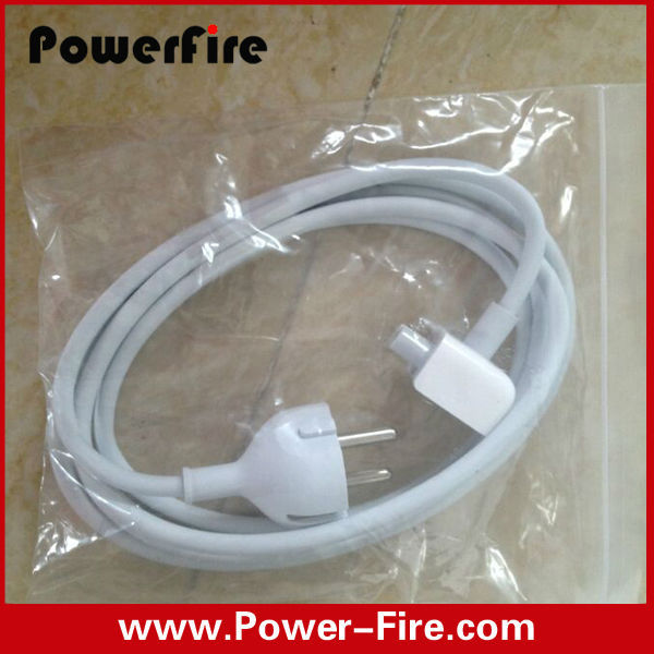 wholesale UK/US/EU AC Power Adapter Charger Extension Cord 1.8M For Apple MacBook Pro Air 45W 60W 85W