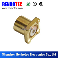 RoHS approved surface mount straight coaxial mmcx connector