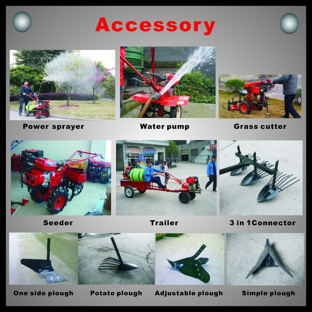 7.0HP Mini Gasoline Tiller Gear Driven HM950/AGRICULTURE MACHINE
