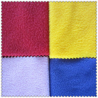 knitted Micro Polar Textiles Cloth for baby Clothes Soft Waterproof Tear-Resistant Organic Bamboo Fleece Fabric