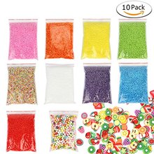 YIPAI 0.1-0.18 inch Lots Assorted Colored Crafts Polystyrene foam beads balls