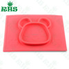 Eco-Friendly kids bowl baby bowl silicone baby suction bowl FDA/LFGB material