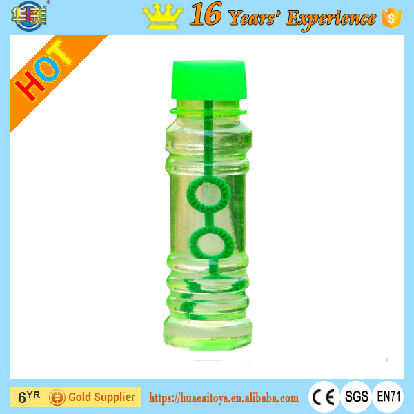 High Quality Novelty Bubble Toys Soap Bubble Bottle